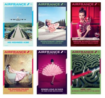 Affiches AirFrance - France is in the Air