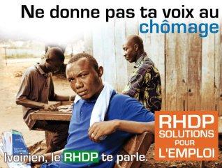 Affiche de Campagne RHDP