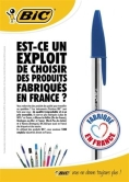 Stylo BIC, made in France