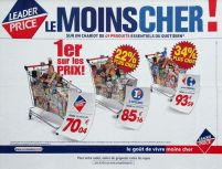 Publicité comparative de Leader Price