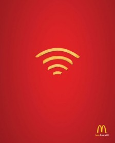 MC DONALD / WIFI à bord