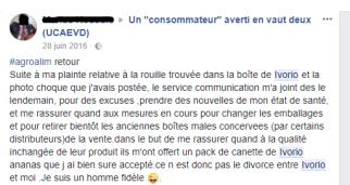 plainte facebook ivorio
